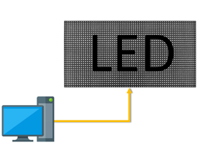LED Matrix Video Wall